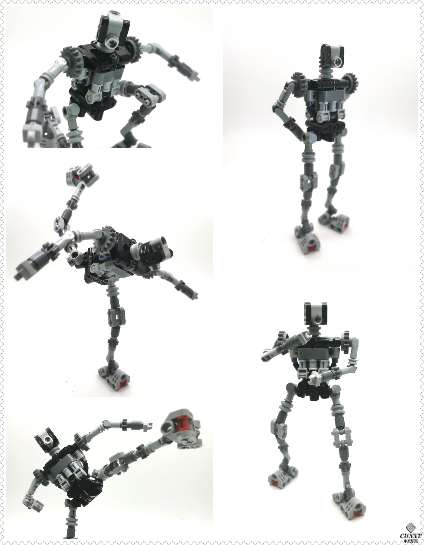 LEGO MOC 科技件大人仔 Large size technical figures conso 02.jpg
